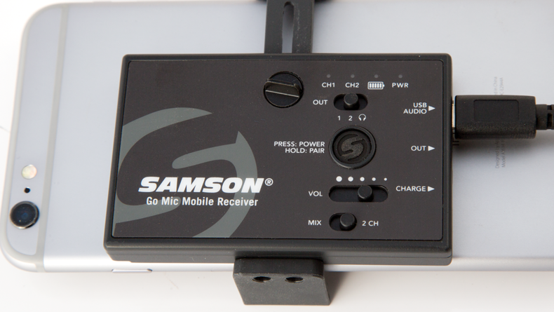 Receiver features simple control interface