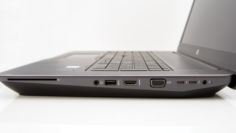 HP gives you th connections you need while maitaining a sleek design.