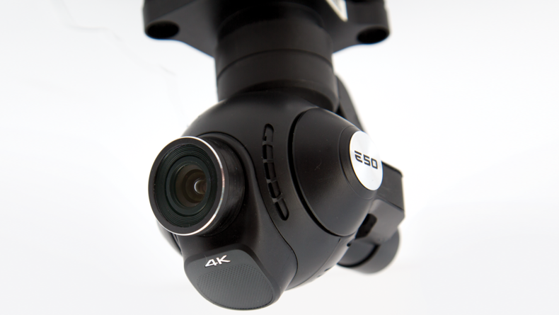 Yuneec E50 camera