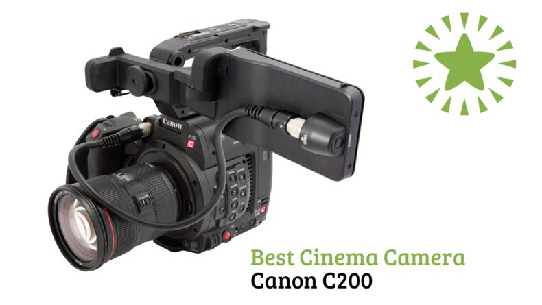 Best Cinema Camera Canon C200