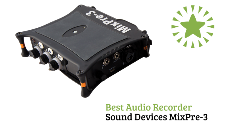 Best Audio Recorder Sound Devices MixPre-3