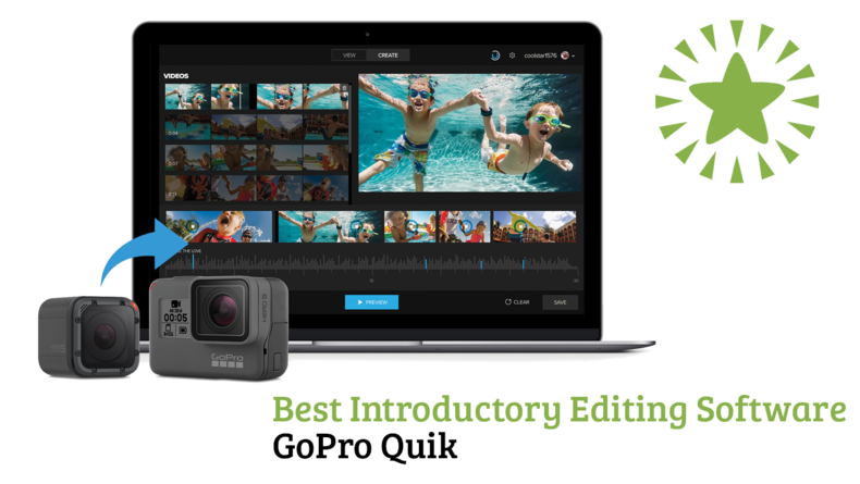 Best Introductory Editing Software GoPro Quik