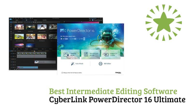 Best Intermediate Editing Software CyberLink PowerDirector 16 Ultimate