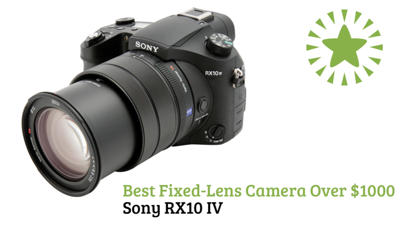 Best Fixed-Lens Camera Over $1000 Sony RX10 IV