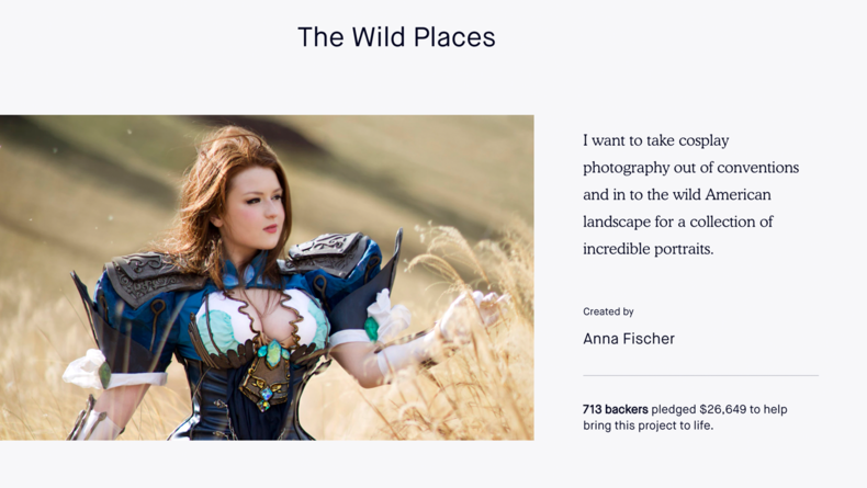 The Wild Places by Anna Fischer — Kickstarter