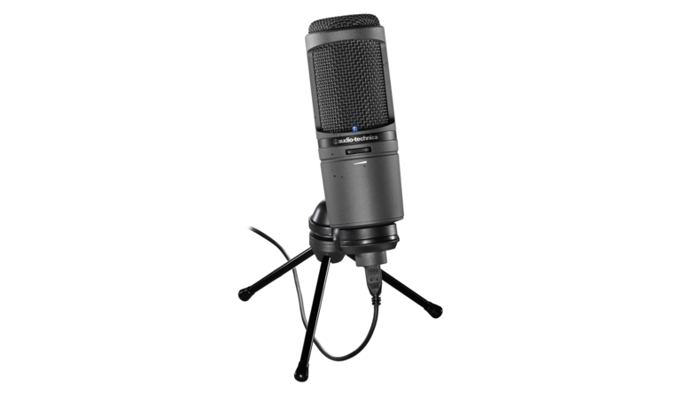 Audio-Technica AT2020USBi  Plug-and-Play Microphone