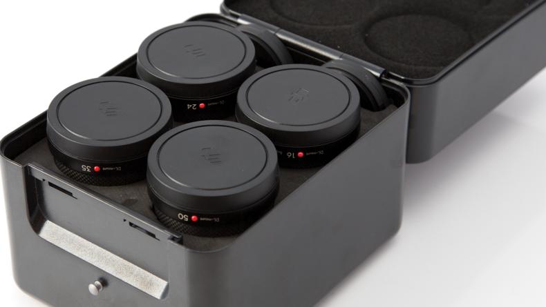 Four compatible lenses available