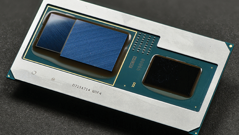 Intel's new i5 and i7 CPUs with AMD Radeon RX Vega M graphics.