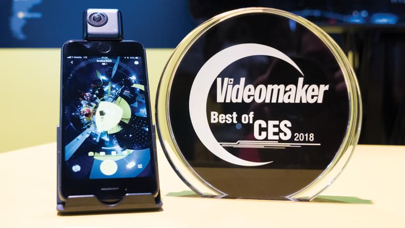 Best 360 Camera - Insta360 Nano S