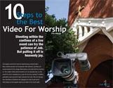 10 Steps to the Best Video for Worship (eDoc)