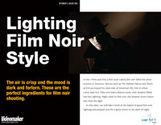 Lighting Film Noir Style (eDoc)