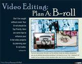 Video Editing - Plan A: B-roll (eDoc)