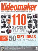 Videomaker Magazine December 2012 Cover