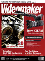 Videomaker May 2011