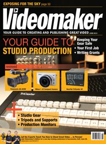 Videomaker Magazine June 2013 Cover