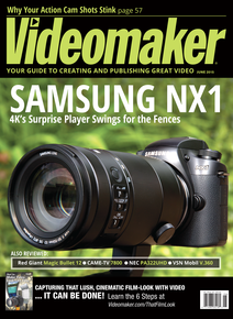June 2015 cover featuring the Samsung NX1
