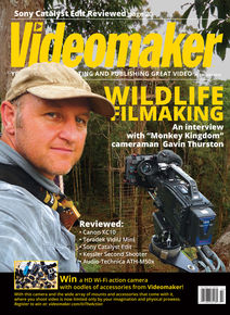 February 2016 cover featuring outdoor cinematographer Gavin Thurston