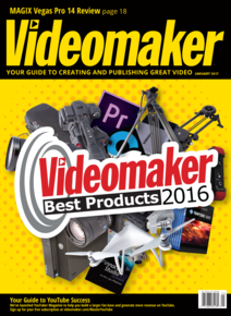 January 2017 Cover featuring Best Products of the Year