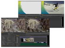 Screen grabs from Premiere Pro Creative Cloud