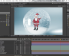 Make a fun snow globe in After Effects!