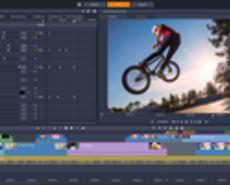 Image of Pinnacle Studio 21 Ultimate being worked in