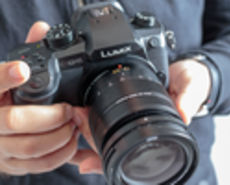 Image of the GH5 being held