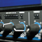Close up photo of knobs on an Audio Compressor