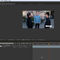 Photo of the After Effects interface with two layers in the timeline