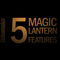 text graphic - videomaker 5 magic lantern features