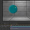 screen shot of a circle in motion in Adobe After Effects