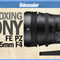 Sony FE PZ 28-135mm f/4 Power Zoom Lens - Unboxing