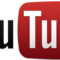 """Logo of YouTube - a red box surrounds """"Tube"""" - like an old television screen"""