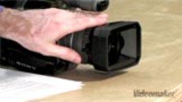 Hands-On Demonstration of Sony FX7 Hi-Def Video Camcorder