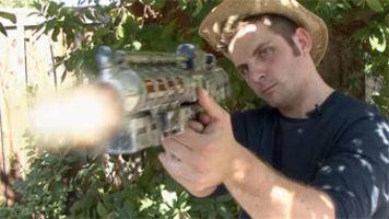 Gun Muzzle Flashes & Blast Sounds