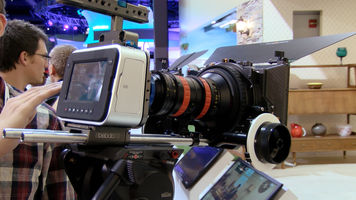 shot of the Blackmagic 4K camera