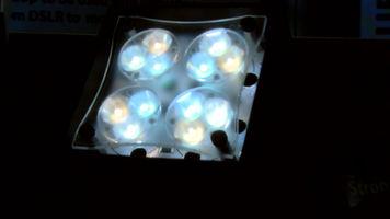 still shot of the Rosco Miro Cube Light