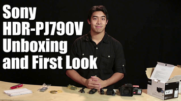 Sony HDR-PJ790V Unboxing and First Look