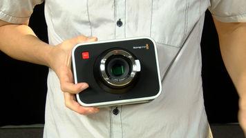 Blackmagic Cinema Camera with no lens on