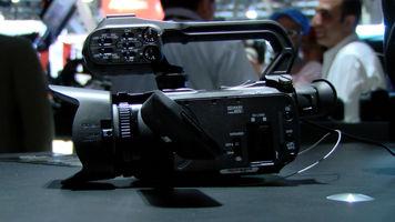 still shot of the Canon XA25