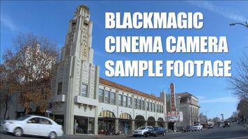 Blackmagic Cinema Camera Sample Footage