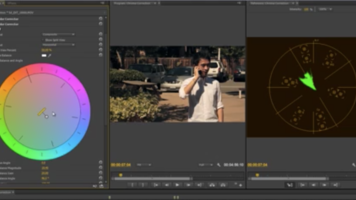 Primary Chroma Correction Using Color Wheels