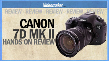 Canon 7D Mark II - Hands on Review