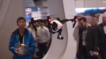 CES 2015: DJI Inspire 1 4K Drone