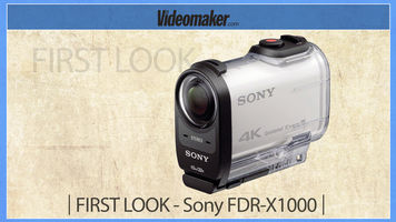 First look - Sony FDR-X1000 4K Action Cam