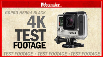 4K Test footage from the GoPro HERO4 Black and Sony FDR-X1000V side by side