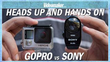 GoPro HERO4 Black vs Sony FDR-X1000V 4K Action Cam - HANDS ON
