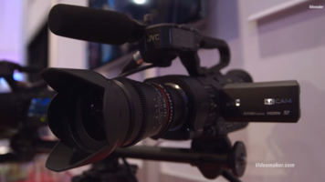 CES 2015: JVC GY LS300 Interchangeable Lens 4K Camcorder