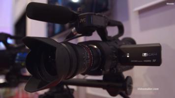 CES 2015: JVC GY LS300 Interchangeable Lens 4K Camcorder