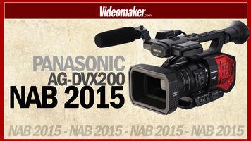 Panasonic Ag-DVX200 4K- NAB 2015