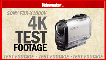 4K Test Footage from the Sony FDR-X1000V Action Cam